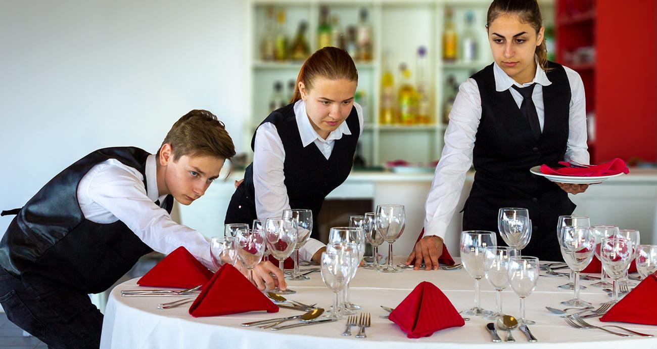Técnico de Restaurante e bar